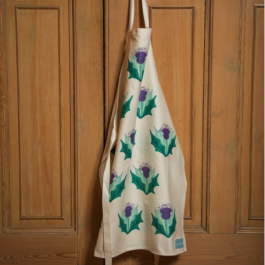 Apron - Cream Thistle